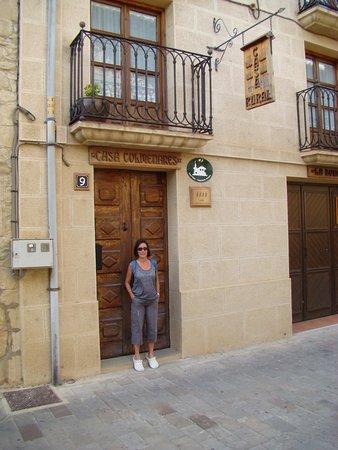 Casa Rural Colmenares : La entrada...