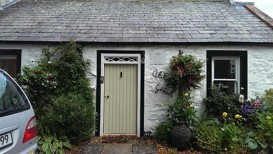 New Abbey, UK: Das Cottage von außen