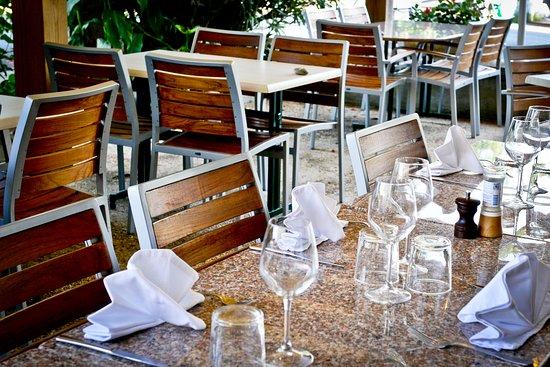 Auberge du Relais : Terrasse
