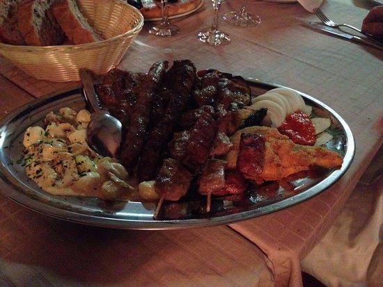 Sukosan, Kroatien: Meat Mix plate Francesco