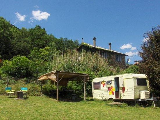 Siradan, Francia: Aire du temps Pyrénées : caravane à louer