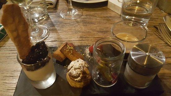 La Robe et le Palais : Café gourmand