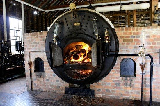 Ballarat, Australie : The furnace.