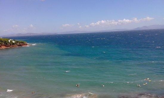 Rafina, Grekland: View from Mpalkoni Restaurant - daytime!
