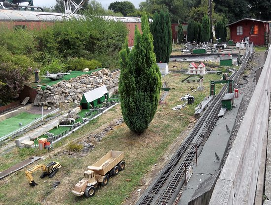 Colne Valley Railway: This The G Scale Layout (Garden Railway) It Does Look