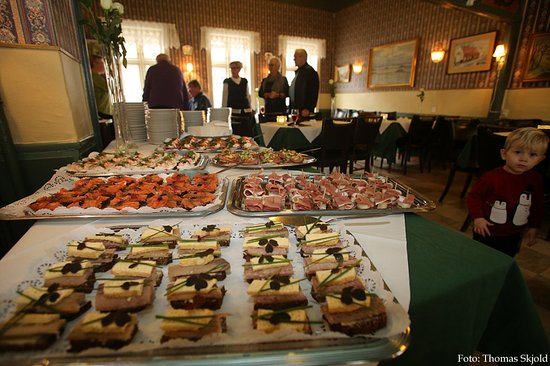 Esbjerg, Denemarken: Buffet