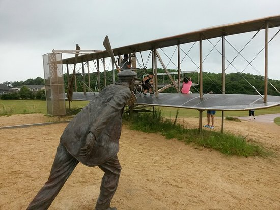 Wright Brothers National Memorial: 20160828_140540_large.jpg