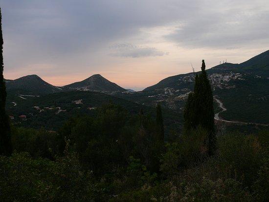 Anthousa, Greece: naplemente (sajnos nekünk felhő jött)