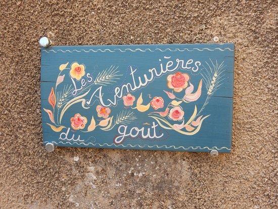 Brantes, Fransa: plaque