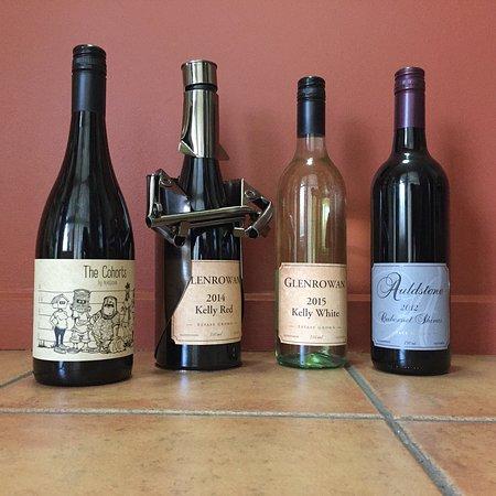 Benalla, Australien: Local wines available