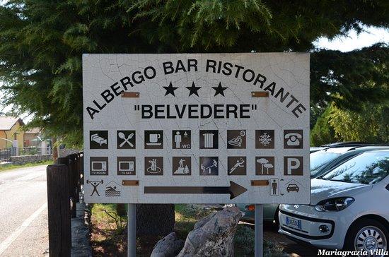 San Zeno di Montagna, Italy: Cartello