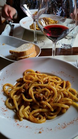 Монти, Италия: Pici al ragù toscano