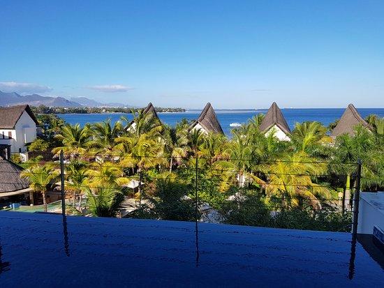Angsana Balaclava Mauritius: view form the balcony
