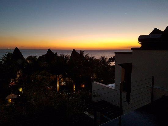 Angsana Balaclava Mauritius: Sunset from the room