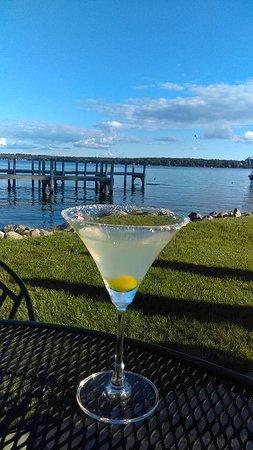 Green Lake, WI: Lemon Drop Martini