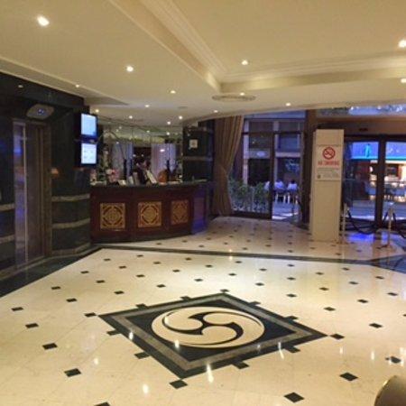Elite World Prestige Hotel: reception