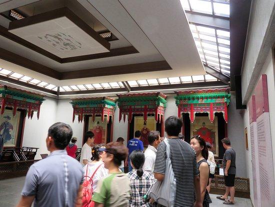 جيونجو, كوريا الجنوبية: 御真博物館の内観2