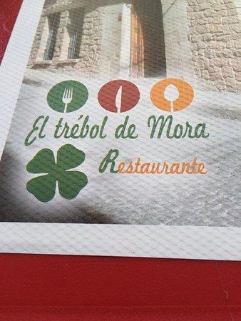 Mora de Rubielos, إسبانيا: EL TREBOL DE MORA