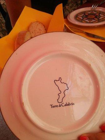 La Leggenda del Leone: piatto