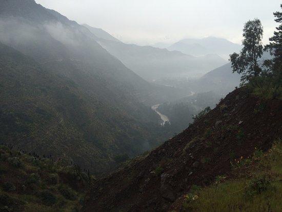 Cascada de las Animas: Foto desde la Meseta