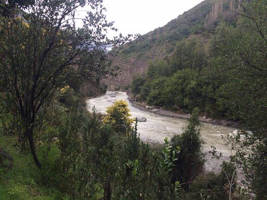 Cascada de las Animas: Foto del Rio