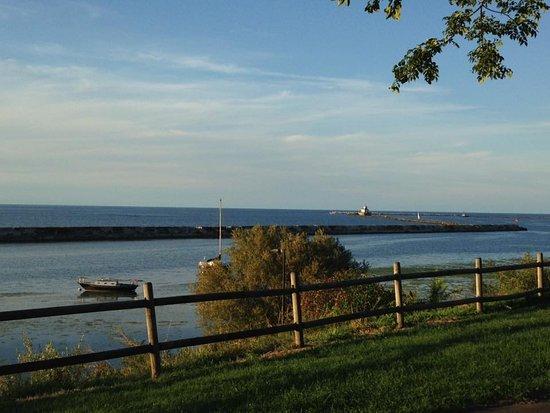 Oswego, نيويورك: Lake Ontario