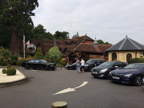 Bagshot, UK: outside reception