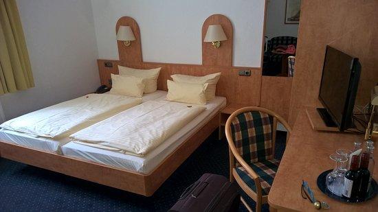 Hotel Lindenhof Luebeck : Camera con puzza a Lubecca