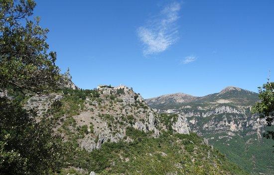 French Riviera - Cote d'Azur, France: Gourdon