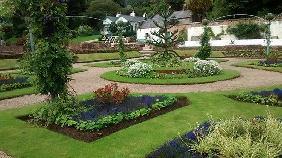 Kylemore, Irland: Giardini
