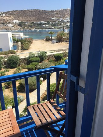 Hotel Erato: Vista dalla camera