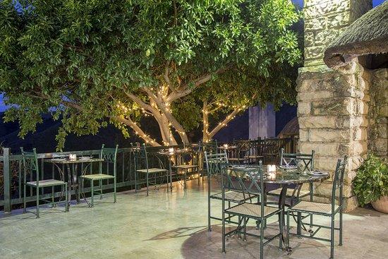 Bergville, Sudáfrica: Diningroom Deck