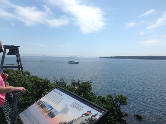 Bass Harbor, ME: One of the views from the light house