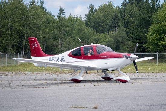 Trenton, ME: One of the planes