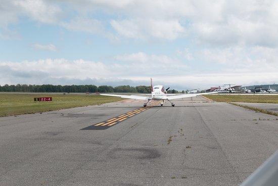 Trenton, ME: Take off