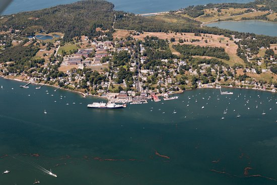 Maine Maritime Academy - Picture of Scenic Flights of Acadia