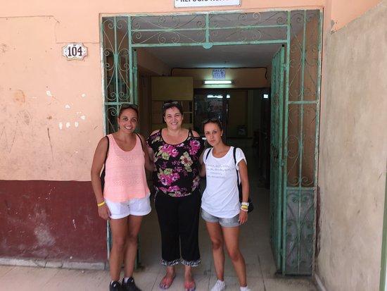Casa Maura Habana Vieja: Despedida de nuestra casera