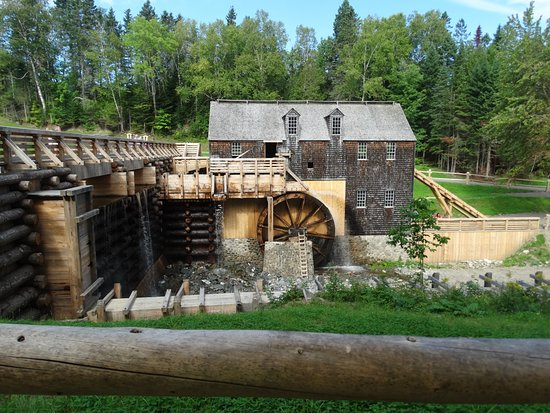 water wheel saw mill picture of kings landing lower prince