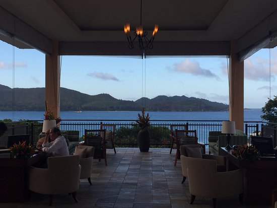Anse Takamaka, Seyşeller: Lobby with beautiful views