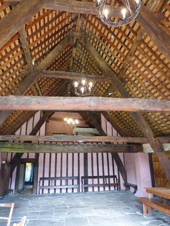 Hutton le Hole, UK: Inside the manor house