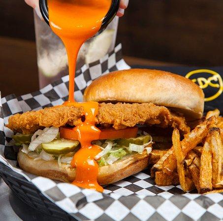 Catoosa, OK: Kickin' Chicken Sandwich