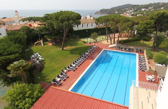 Hotel Alga: Jardin y Piscina Hotel