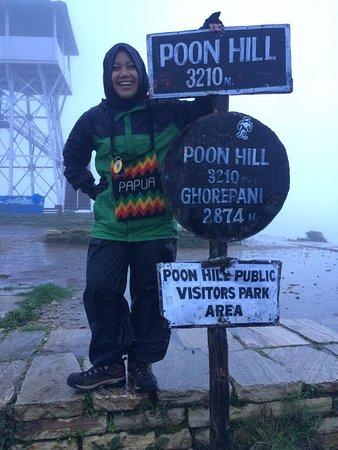 Kathmandu Valley, Nepal: Papuan girl on Ponhill!!!