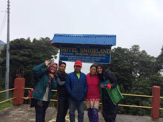 Kathmandu Valley, Nepal: in Snowland Hotel, Gorepani