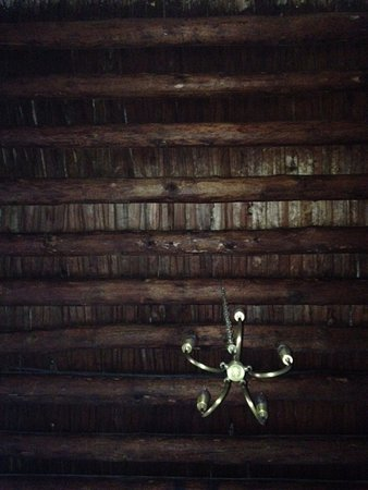 Hotel Boutique San Felipe El Real: Our bedroom ceiling