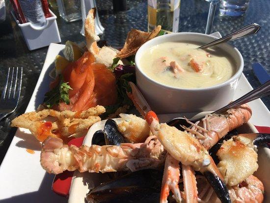 "Ardglass, UK: The ""mini"" seafood platter!"