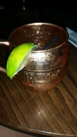Main St Cafe and Bread Baking Co : Moscow Mule with Gin