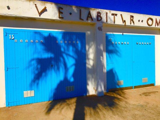Club Nautico Binisafua: Junto al restaurante. Club nautico