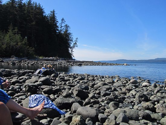 Quadra Island, Canada: The B in BC stands for Beautiful