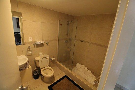 Pasanggrahan Royal Guesthouse: Basic bathroom.